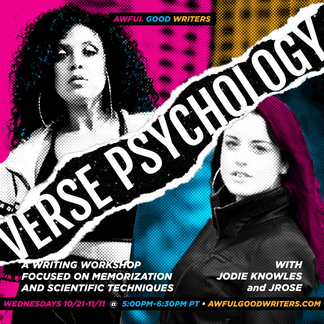 JRose & Jodie Knowles: Verse Psychology